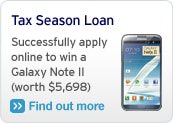 Tax Season Loan: Successfully apply online to win a Galaxy Note II (worth $5,698)