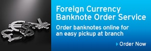 Foreign Currency Banknote Order Service